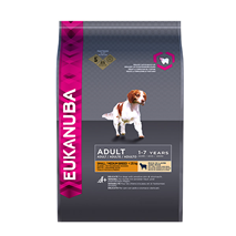 Eukanuba Adult Small/Medium - jagnjetina in riž - 12 kg