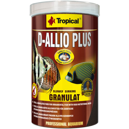Tropical D-Allio Plus granulat - 100 ml / 60 g