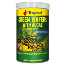 Tropical Green Algae Wafers - 100 ml / 45 g
