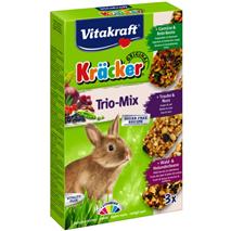 Vitakraft kreker zelenjava, oreh in gozdni sadeži, 3 kom - 168 g