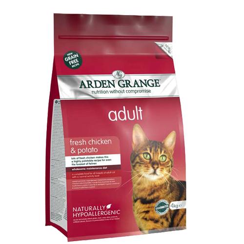 Arden Grange Adult - piščanec in krompir - 4 kg