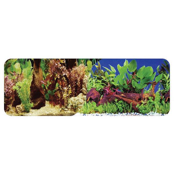 Prodac tapeta/ozadje dvojni sladkovodni habitat - 50 x 15 cm (cena za meter)
