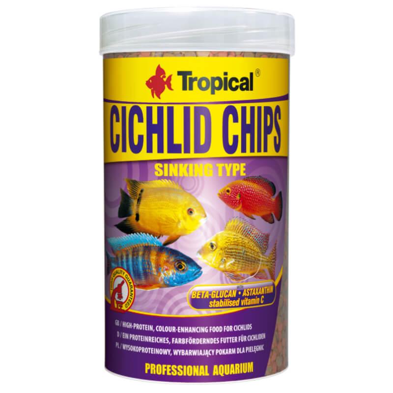 TR CICHLID CHIPS 250ML/130G