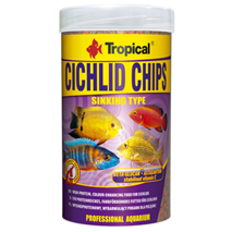 Tropical Cichlid Chips - 250 ml / 130 g