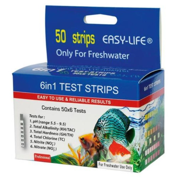 Easy Life Test Strips 6 v 1 - 50 lističev