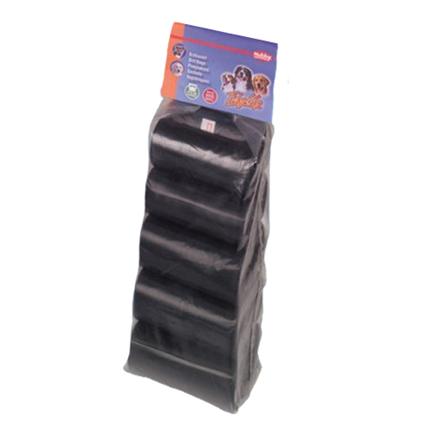 Nobby drečke (vrečke za iztrebke) Refil 10 x 15kos - črne