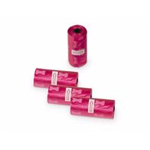 Nobby drečke (vrečke za iztrebke) Refil 4 x 15kos - roza/kostke