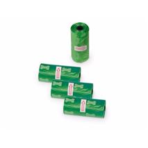 Nobby drečke (vrečke za iztrebke) Refil 4 x 15kos - zelene/kostke