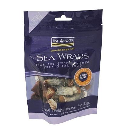 Fish4Dogs Sea Wraps Sweet Potato - 100 g