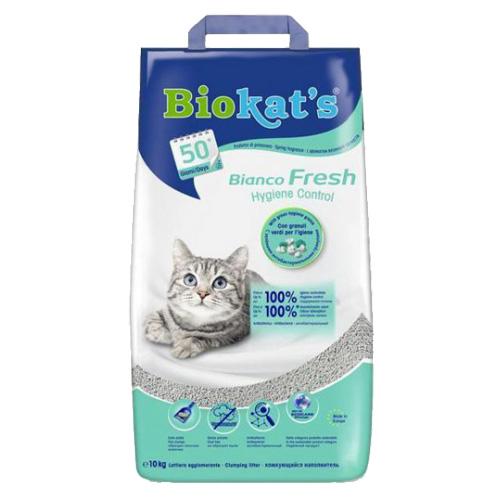 Biokat's Fresh Hygiene pesek za muce - 10 kg