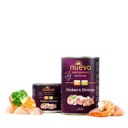 Nuevo Adult - piščanec in rakci - 200 g