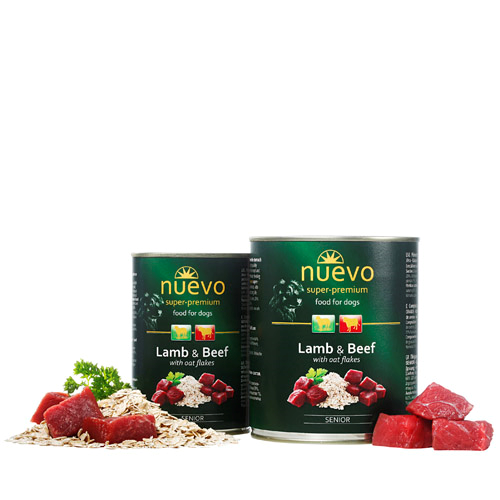 Nuevo Senior - jagnjetina in govedina - 400 g