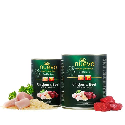 Nuevo Junior - piščanec in govedina - 800 g