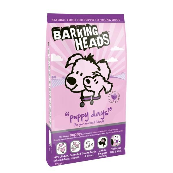 Barking Heads Puppy Days - 12 kg