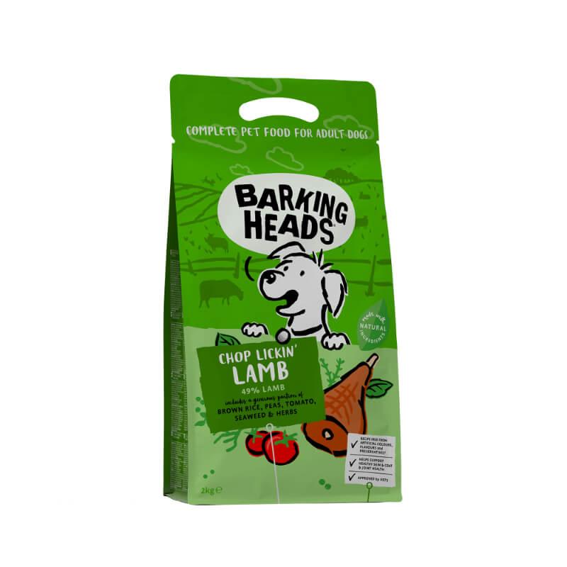 Barking Heads Chop Lickin' Lamb - jagnjetina 2 kg