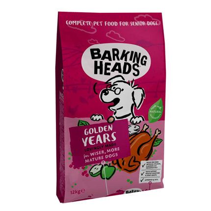 Barking Heads Golden Years - 12 kg