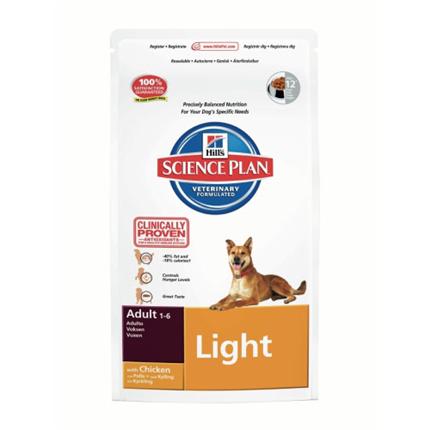 Hill's Adult Light - piščanec - 3 kg