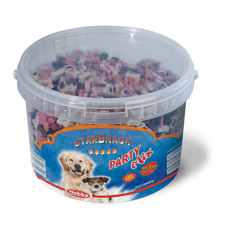 Nobby Starsnack Party Mix prigrizki – 1,8 kg