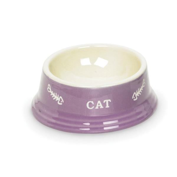 Nobby posoda keramika, vijolična in bež - 14 cm