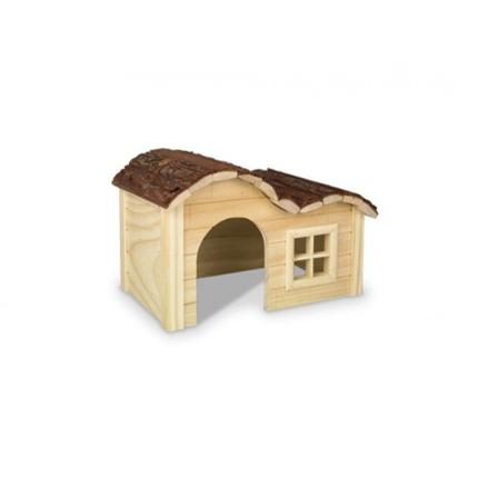 Nobby lesena hiška Woodland Jessi - 42 x 27 x 22 cm