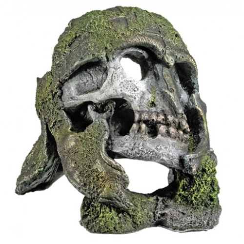Nobby dekor lobanja s čelado - 10 x 9,5 x 7 cm