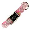 Beeztees ovratnica Envy Hula Hula, roza - različne velikosti 35 - 50 cm