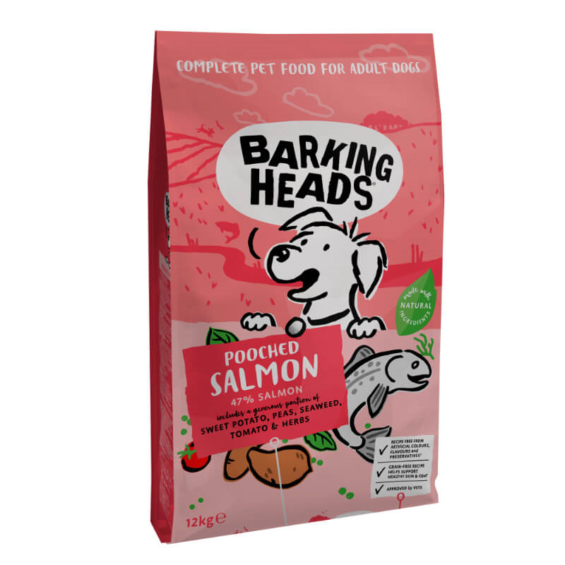 Barking Heads Fusspot - losos 12 kg