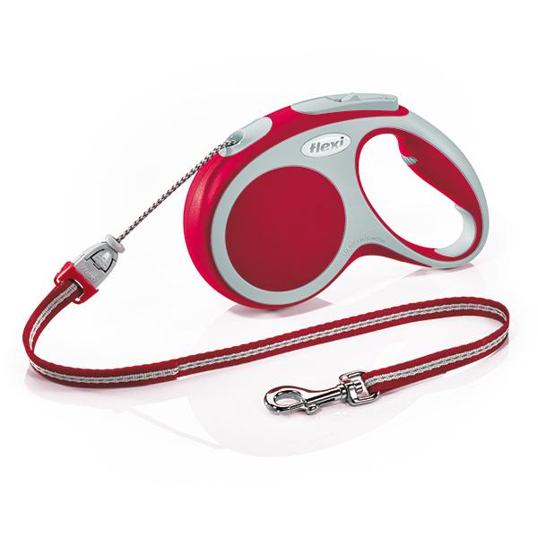 Flexi povodec Vario M, vrvica - 5 m (različne barve) Red