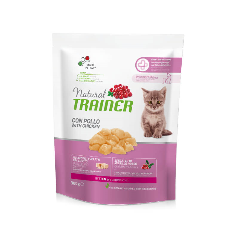 Trainer Cat Natural Kitten - piščanec - 300 g