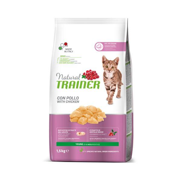 Trainer Natural Cat Young Cat - piščanec 1,5 kg