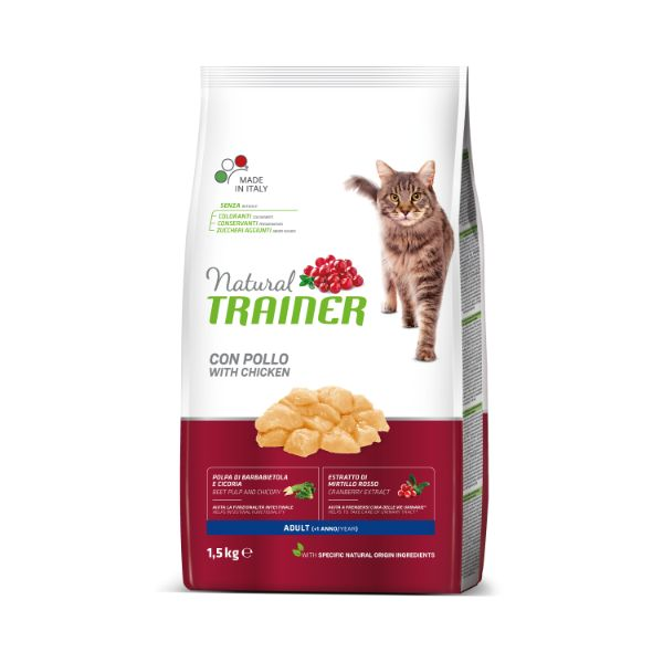 Trainer Cat Natural Adult - piščanec - 1,5 kg