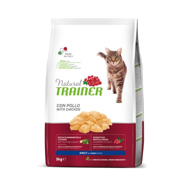 Trainer Cat Natural Adult - piščanec - 3 kg