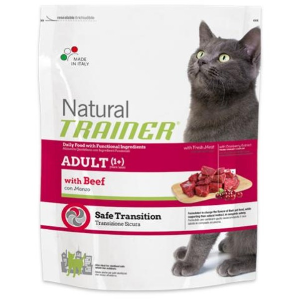 Trainer Cat Natural Adult - govedina - 3 kg