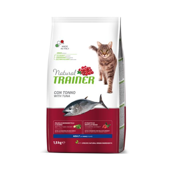 Trainer Cat Natural Adult - tuna - 1,5 kg