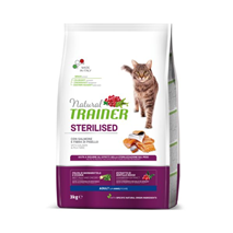 Trainer Cat Natural Sterilised - losos - 3 kg