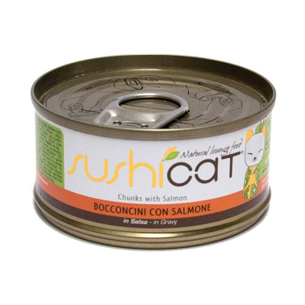 Sushi Cat – losos v omaki – 70 g