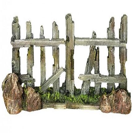 Nobby dekor lesena ograja - 18 x 5 x 7 cm