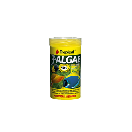 Tropical 3-Algae flakes - 250 ml / 50 g