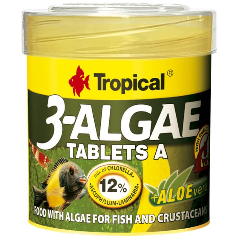 TR 3-ALGAE TABLETS A 50ML/36G/80 TAB.