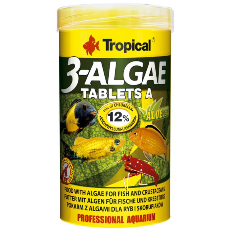 Tropical 3-Algae tablets A - 250 ml / 340 tablet