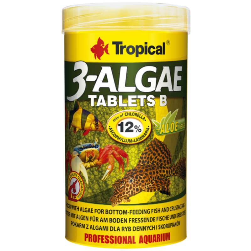 Tropical 3-Algae tablets B - 250 ml / 830 tablet