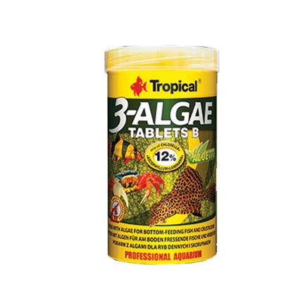Tropical 3-Algae tablets B - 250 ml / 830 tablet