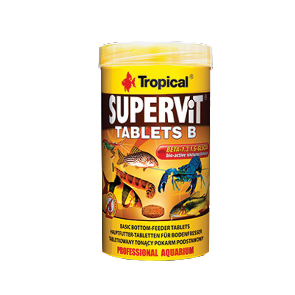 TR SUPERVIT TABLETS B 250ML/150G/830TAB.