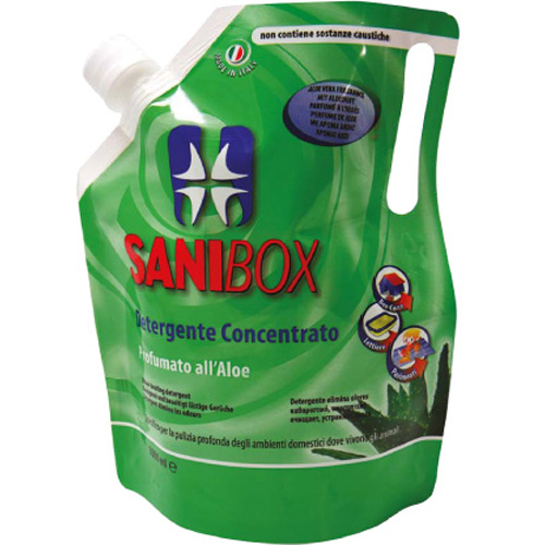 Sanibox čistilo koncentrat, aloa - 1000 ml