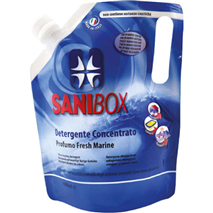 Sanibox čistilo koncentrat, fresh marine - 1000 ml