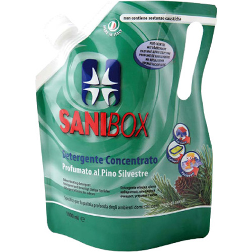 Sanibox čistilo koncentrat, bor - 1000 ml