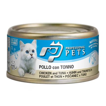 Professional Pets Naturale – piščanec in tuna - 70 g