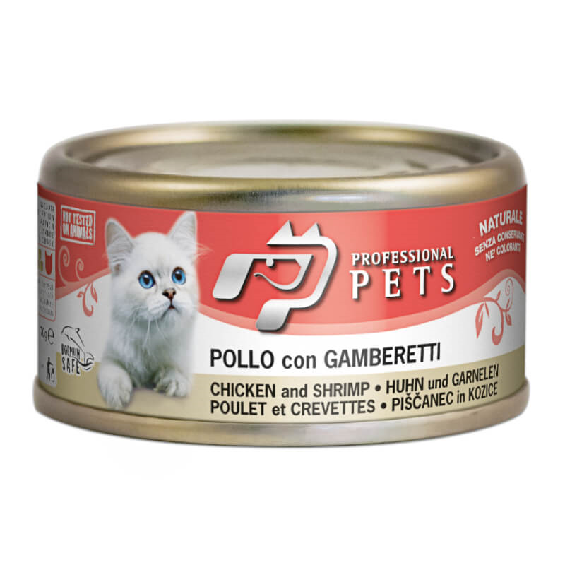 Professional Pets Naturale – piščanec in rakci - 70 g