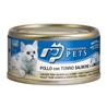 Professional Pets Naturale – piščanec, tuna, losos in kozice - 70 g 70 g