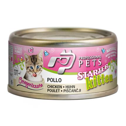 Professional Pets Naturale Kitten– piščanec – 70 g